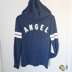 Victoria's Secret | Angel hoodie zipper sweatshirt